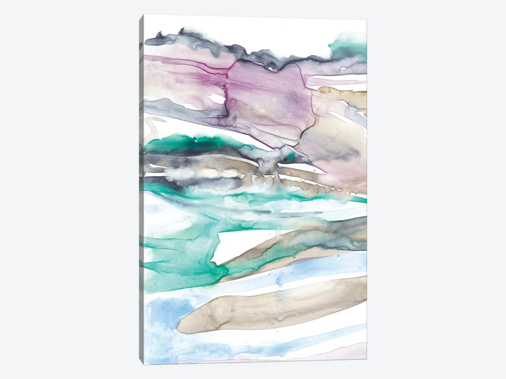 Geode Layers I by Jennifer Goldberger 1-piece Canvas Artwork