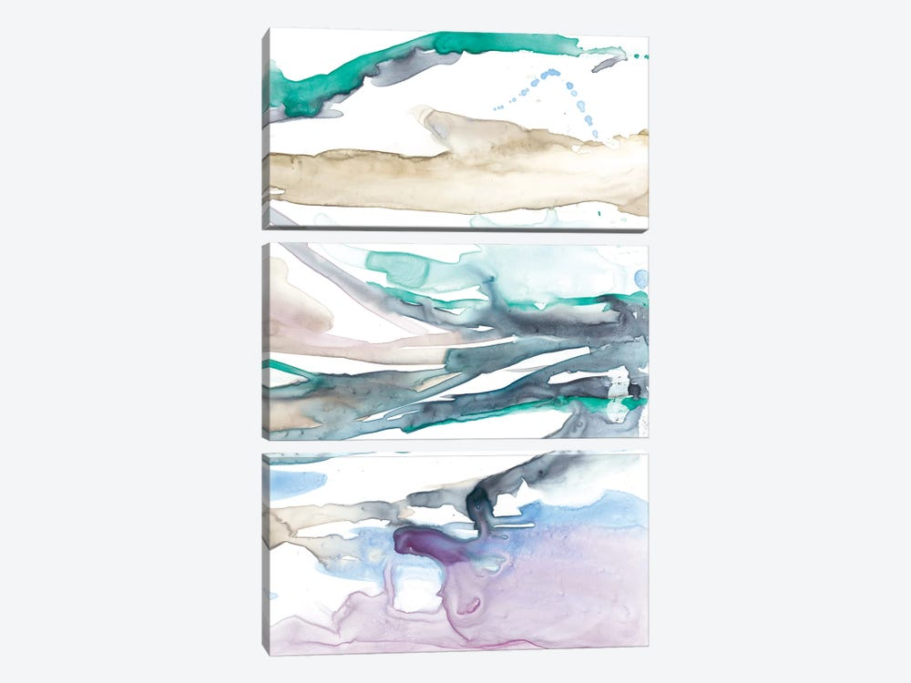 Geode Layers II by Jennifer Goldberger 3-piece Art Print