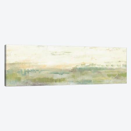 Greenery Horizon Line I Canvas Print #JGO310} by Jennifer Goldberger Canvas Art Print