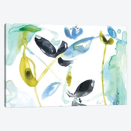 Hanging Garden I 3-Piece Canvas #JGO313} by Jennifer Goldberger Canvas Print