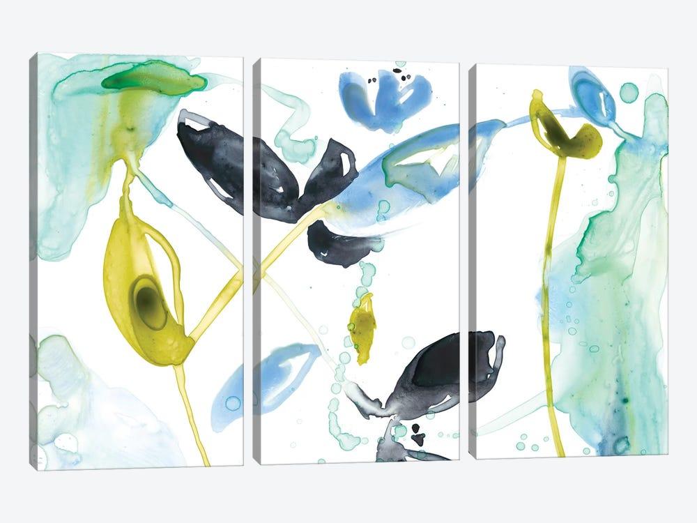 Hanging Garden I by Jennifer Goldberger 3-piece Canvas Art