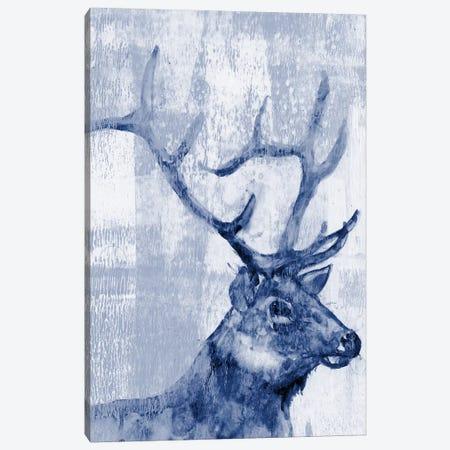 Indigo Elk Canvas Print #JGO315} by Jennifer Goldberger Canvas Wall Art