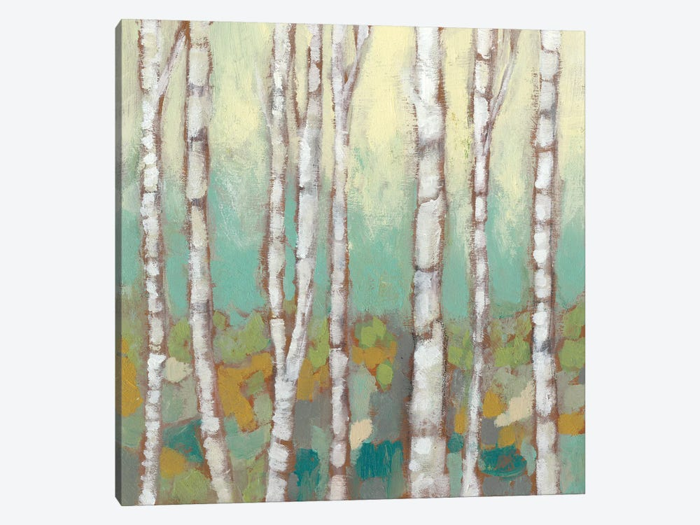 Kaleidoscope Birches I by Jennifer Goldberger 1-piece Art Print
