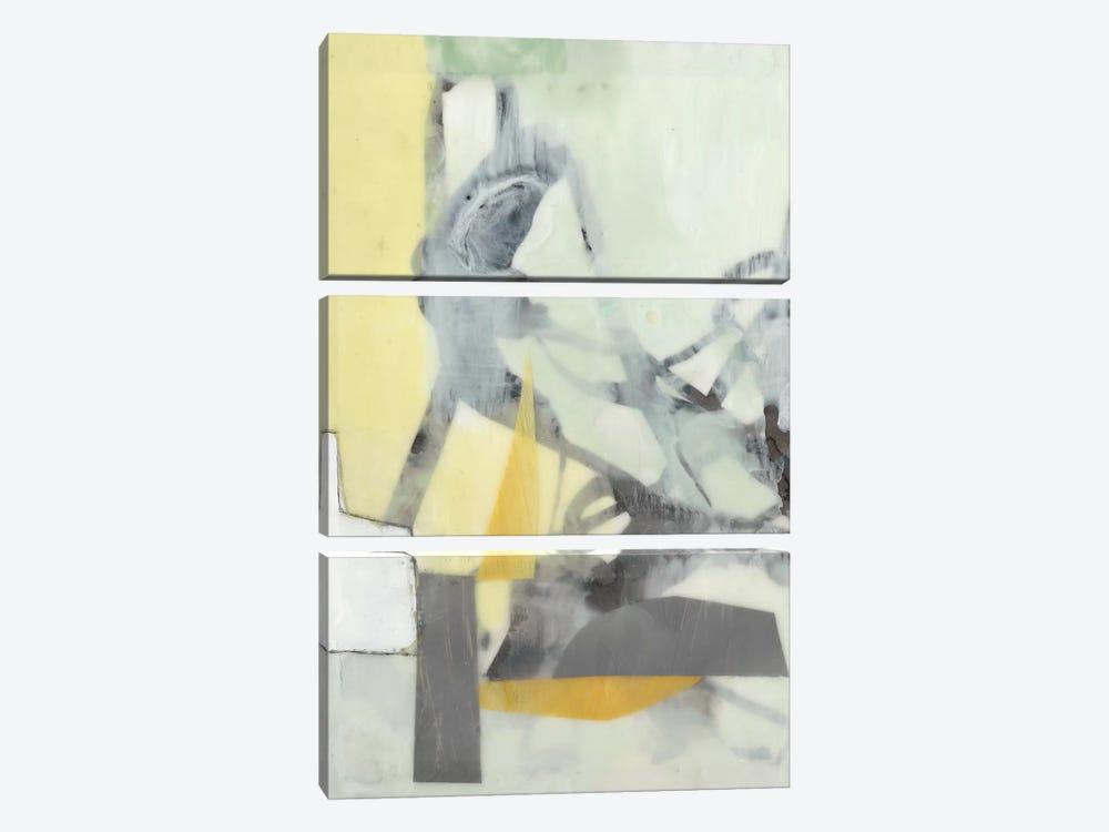 Ribbon In Wax I by Jennifer Goldberger 3-piece Canvas Art