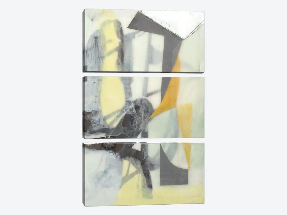 Ribbon In Wax II by Jennifer Goldberger 3-piece Art Print