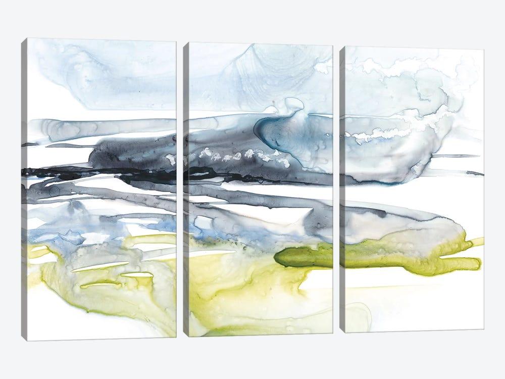 Sweeping Fields II by Jennifer Goldberger 3-piece Canvas Artwork