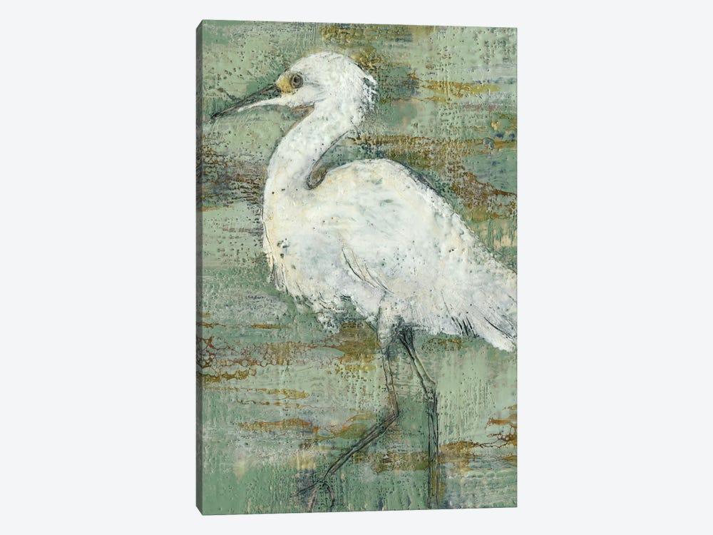 Textured Heron I by Jennifer Goldberger 1-piece Canvas Artwork