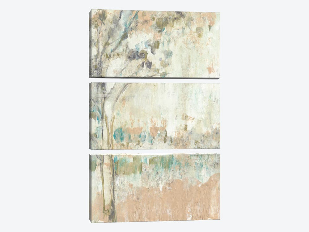 Ethereal Tree I by Jennifer Goldberger 3-piece Canvas Print