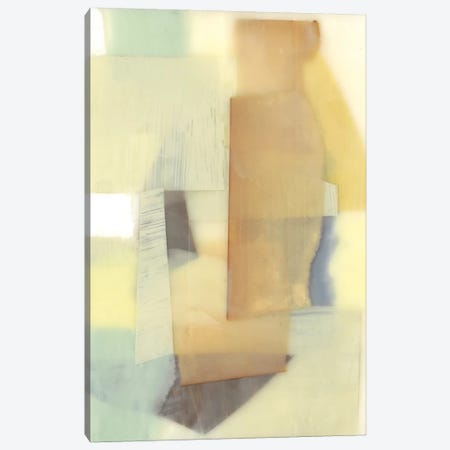 Translucent Layers I Canvas Print #JGO343} by Jennifer Goldberger Canvas Artwork
