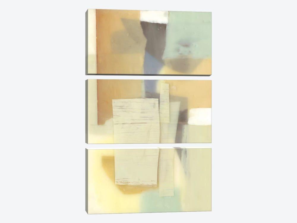 Translucent Layers II by Jennifer Goldberger 3-piece Canvas Artwork
