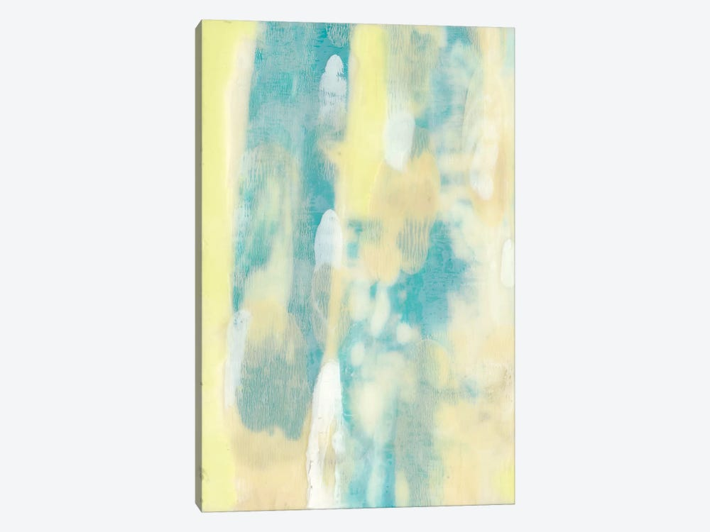 Turquoise Transparency I by Jennifer Goldberger 1-piece Art Print