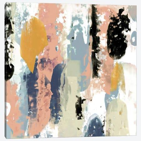 Blueberry Swatches II 3-Piece Canvas #JGO363} by Jennifer Goldberger Canvas Artwork