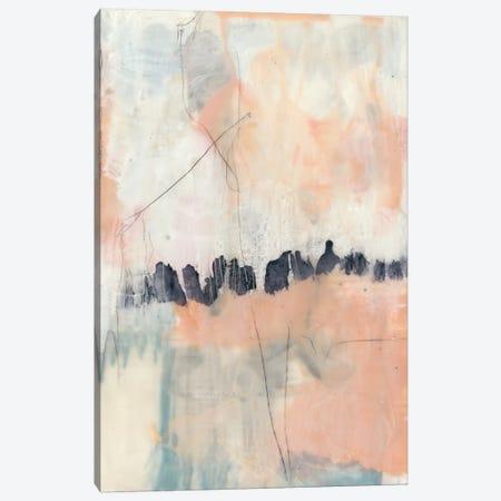 Blush & Navy II Canvas Print #JGO365} by Jennifer Goldberger Canvas Print