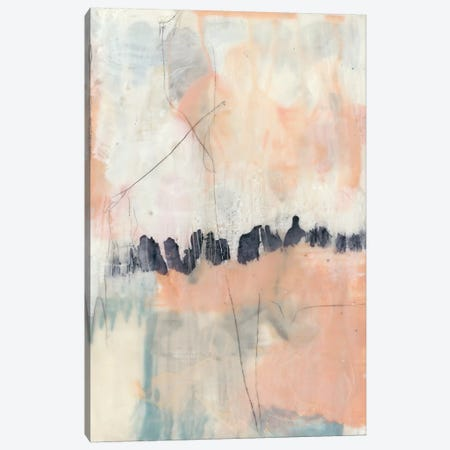 Blush & Navy II Canvas Print #JGO365} by Jennifer Goldberger Canvas Print