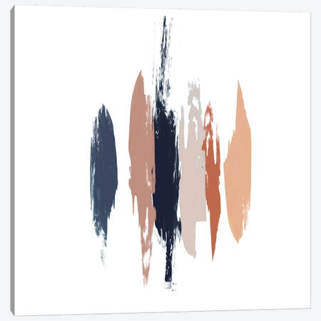 Brushed II Canvas Print #JGO369} by Jennifer Goldberger Canvas Wall Art