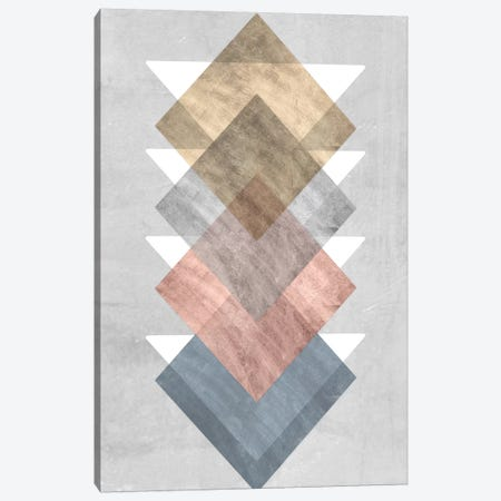 Diamond Allign I Canvas Print #JGO370} by Jennifer Goldberger Canvas Print
