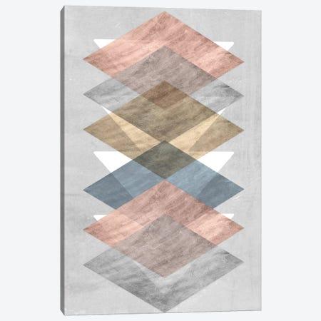 Diamond Allign II Canvas Print #JGO371} by Jennifer Goldberger Canvas Print