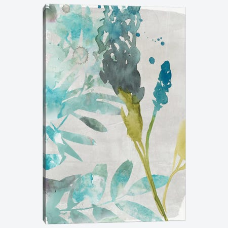 Flower Layers I Canvas Print #JGO374} by Jennifer Goldberger Canvas Art