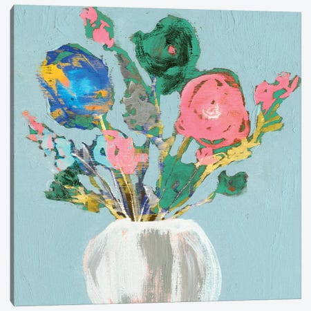 Fun Bouquet II Canvas Print #JGO379} by Jennifer Goldberger Art Print
