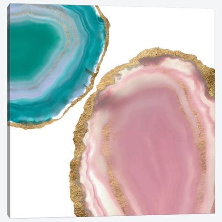 Gem Stones I Canvas Print #JGO380} by Jennifer Goldberger Canvas Artwork