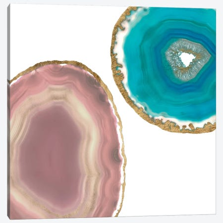 Gem Stones II Canvas Print #JGO381} by Jennifer Goldberger Canvas Wall Art