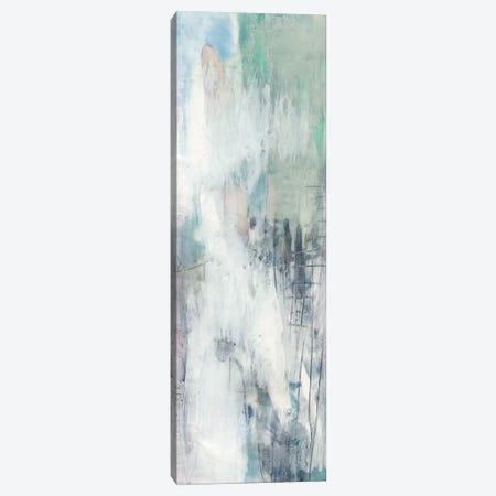 Indigo & Mint I Canvas Print #JGO397} by Jennifer Goldberger Canvas Art