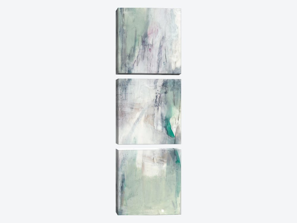 Indigo & Mint II by Jennifer Goldberger 3-piece Art Print