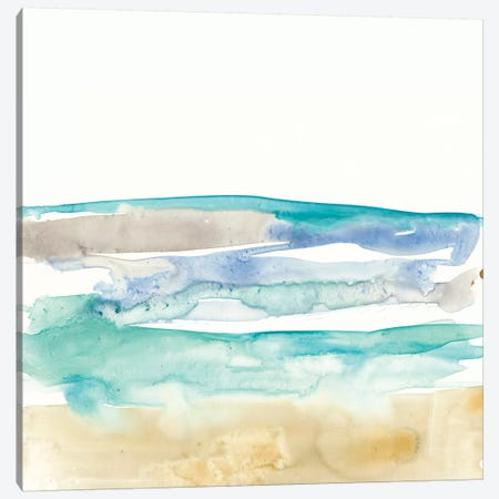 Mountains To Sea I Canvas Print #JGO405} by Jennifer Goldberger Canvas Art