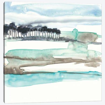 Mountains To Sea II Canvas Print #JGO406} by Jennifer Goldberger Canvas Wall Art