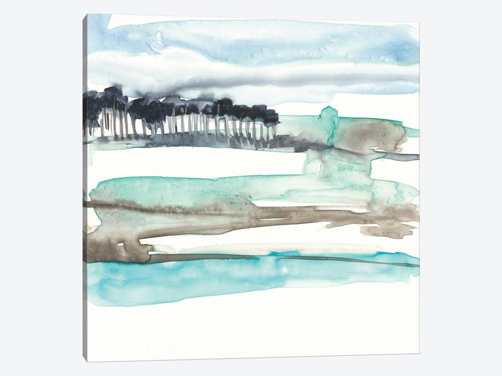 Mountains To Sea II by Jennifer Goldberger 1-piece Canvas Art Print
