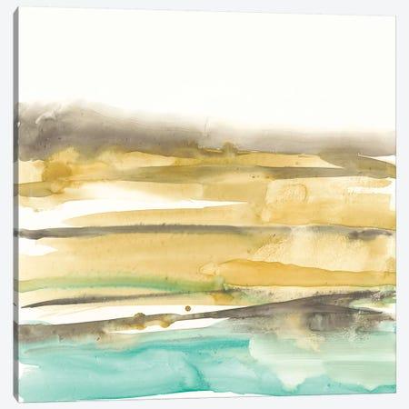 Mountains To Sea III Canvas Print #JGO407} by Jennifer Goldberger Canvas Art
