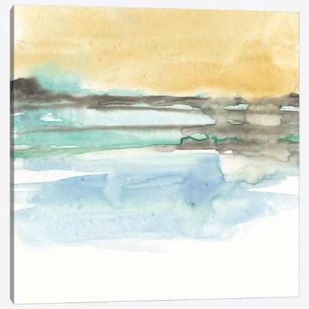 Mountains To Sea IX Canvas Print #JGO409} by Jennifer Goldberger Art Print
