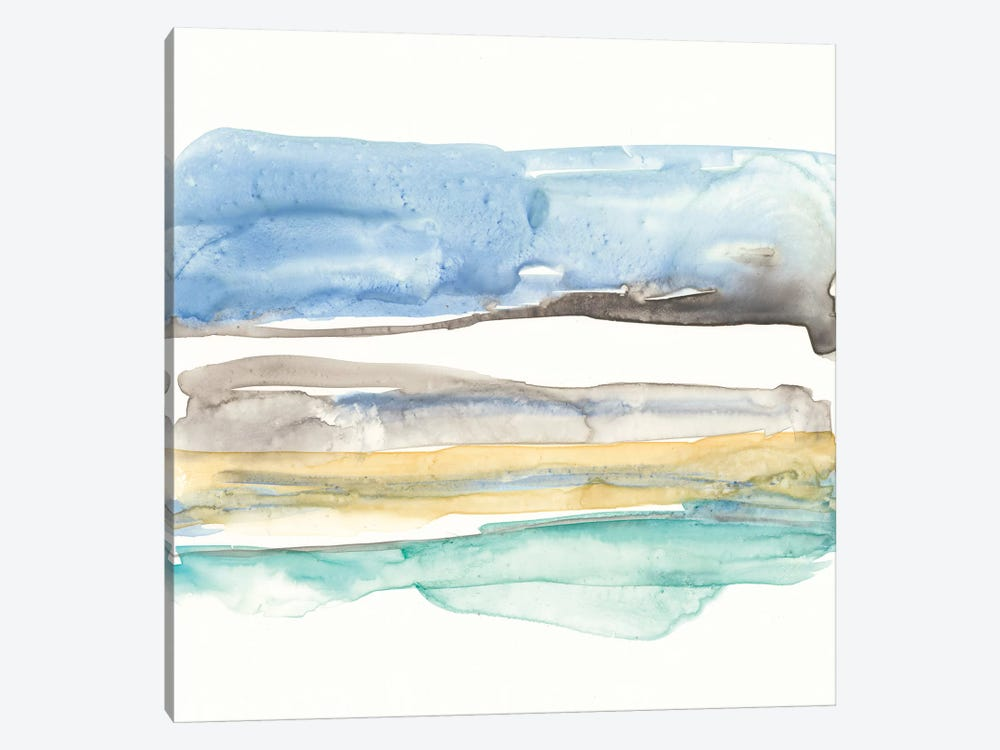 Mountains To Sea V by Jennifer Goldberger 1-piece Canvas Artwork