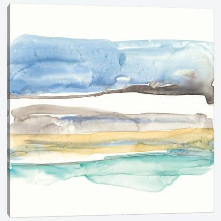 Mountains To Sea V Canvas Print #JGO410} by Jennifer Goldberger Canvas Art