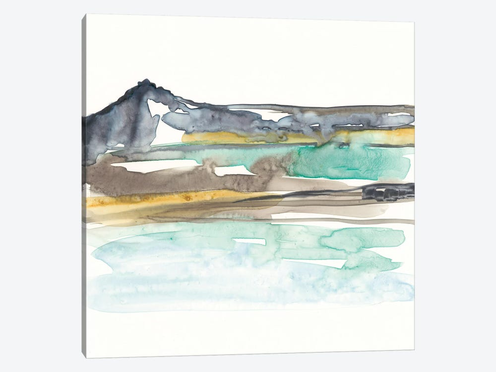 Mountains To Sea VII by Jennifer Goldberger 1-piece Canvas Art