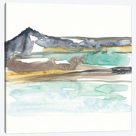 Mountains To Sea VII Canvas Print #JGO412} by Jennifer Goldberger Canvas Art