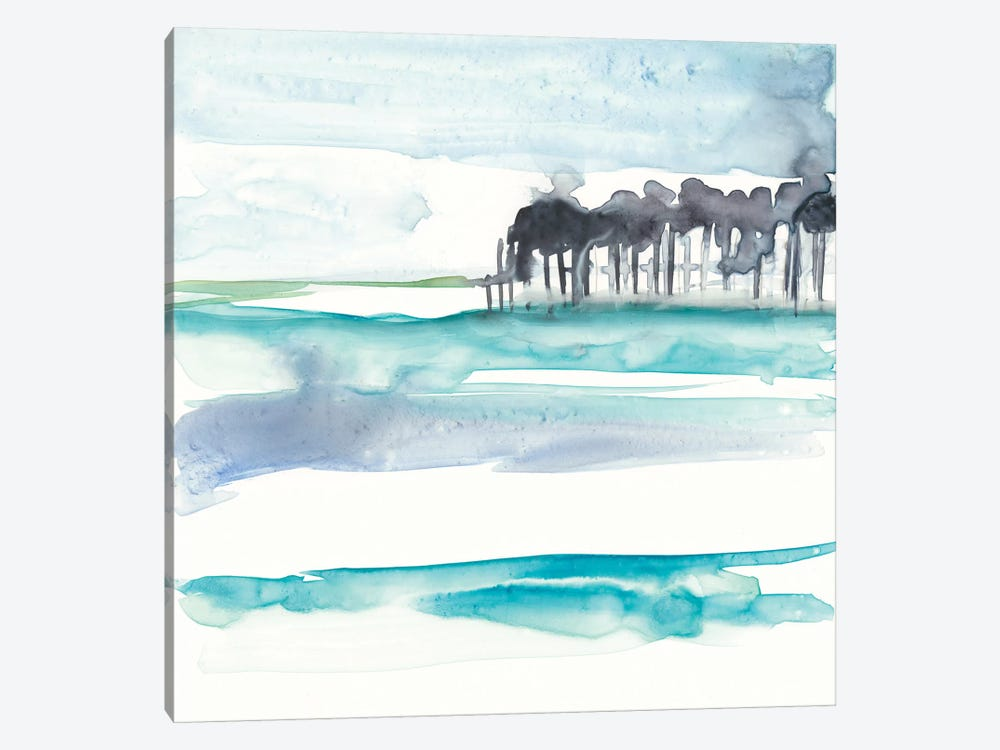 Mountains To Sea VIII by Jennifer Goldberger 1-piece Canvas Print