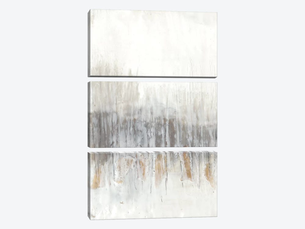 Neutral Wave I by Jennifer Goldberger 3-piece Canvas Art