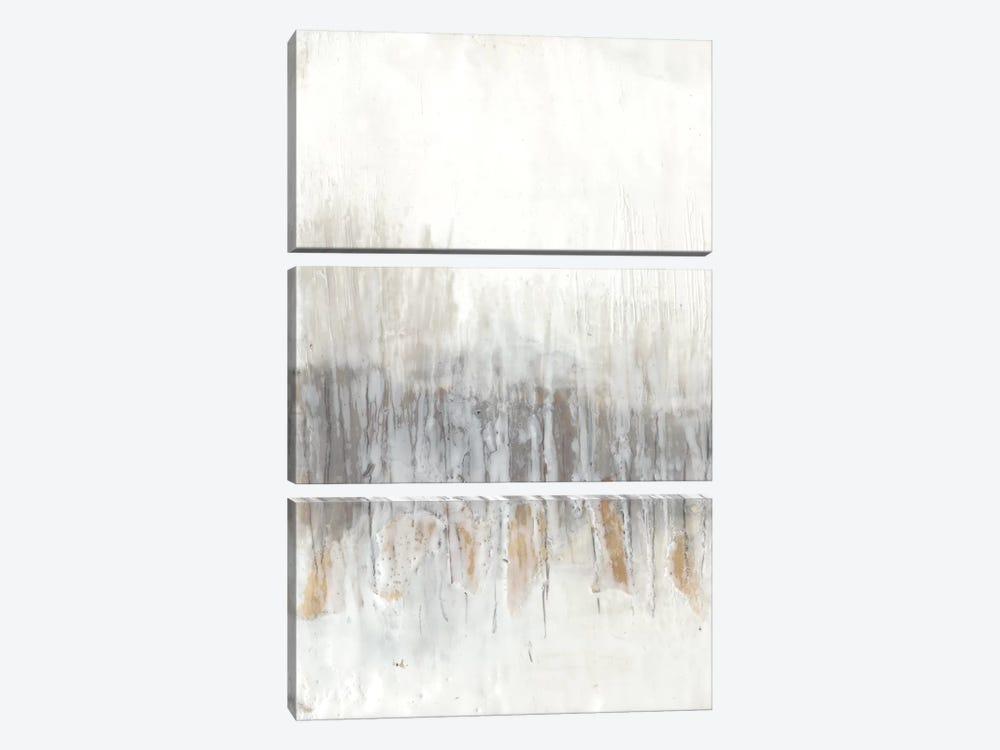 Neutral Wave I by Jennifer Goldberger 3-piece Canvas Art