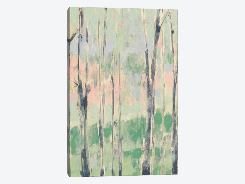 Pastels In The Trees I by Jennifer Goldberger 1-piece Canvas Art Print