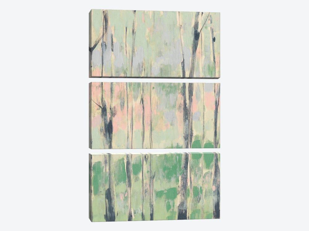 Pastels In The Trees I by Jennifer Goldberger 3-piece Art Print