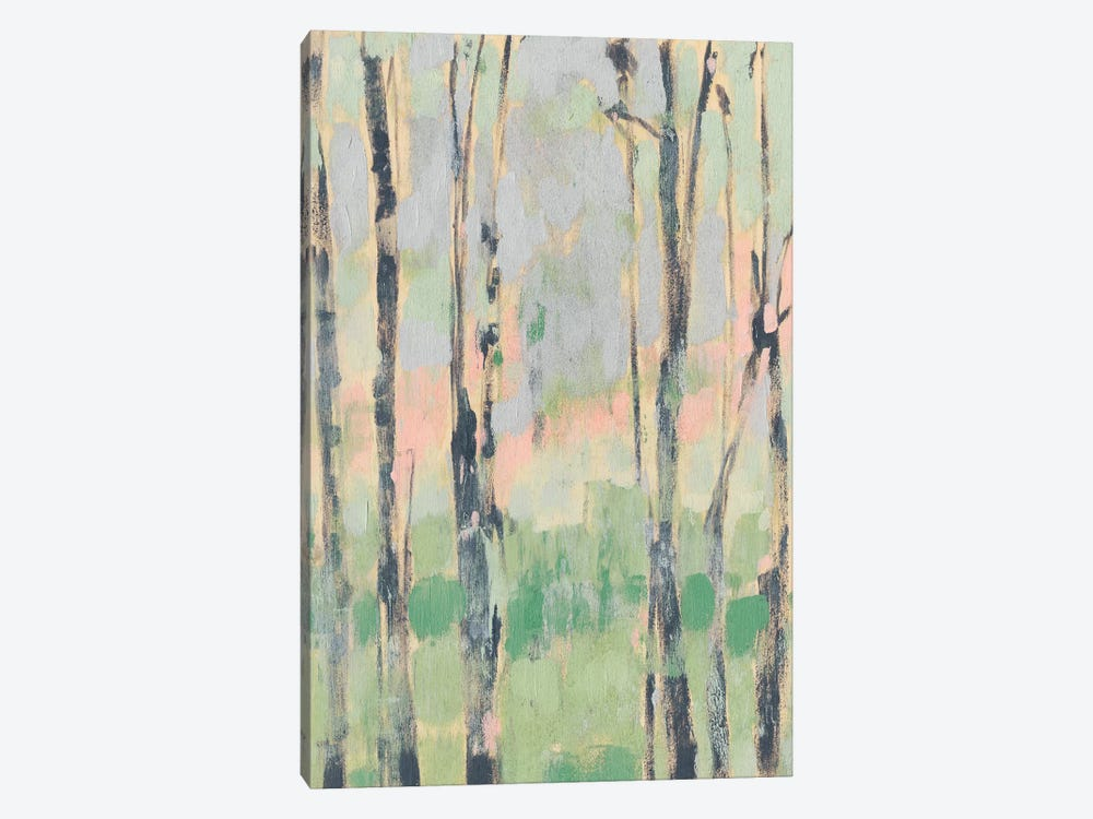 Pastels In The Trees II by Jennifer Goldberger 1-piece Canvas Artwork