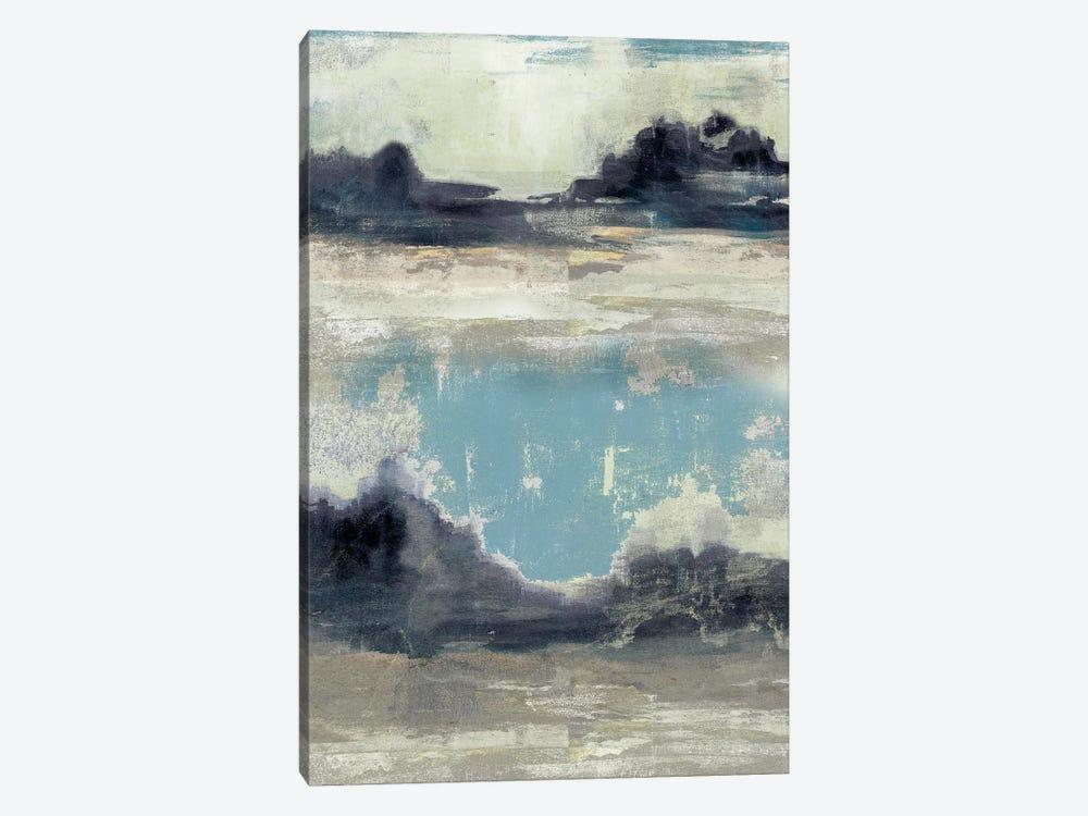 Peaceful Mountain III by Jennifer Goldberger 1-piece Canvas Print