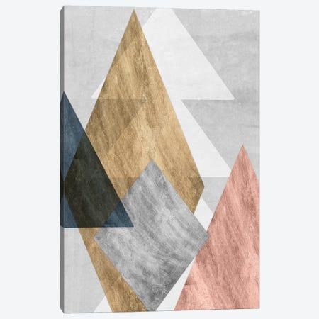 Peaks I Canvas Print #JGO429} by Jennifer Goldberger Canvas Print
