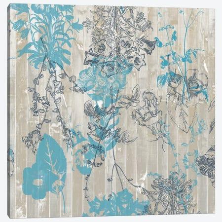 Flower Pattern I Canvas Print #JGO42} by Jennifer Goldberger Canvas Wall Art