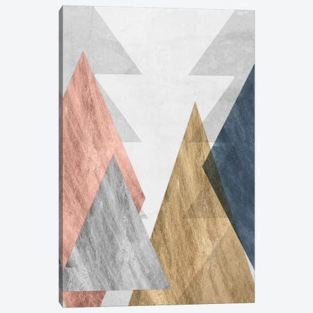 Peaks II Canvas Print #JGO430} by Jennifer Goldberger Canvas Wall Art