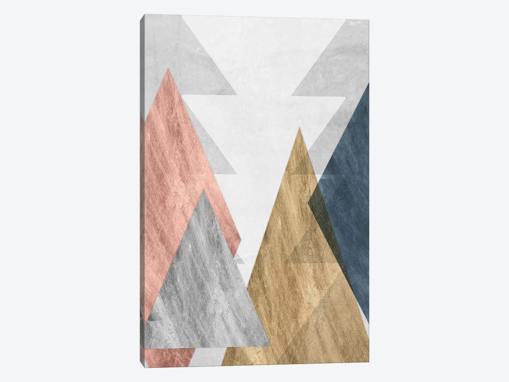 Peaks II by Jennifer Goldberger 1-piece Canvas Artwork