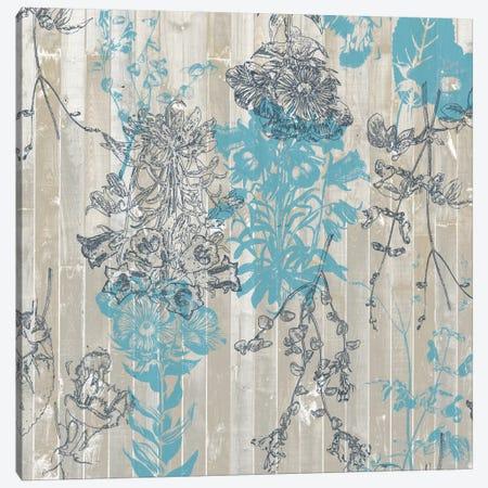 Flower Pattern II Canvas Print #JGO43} by Jennifer Goldberger Canvas Artwork