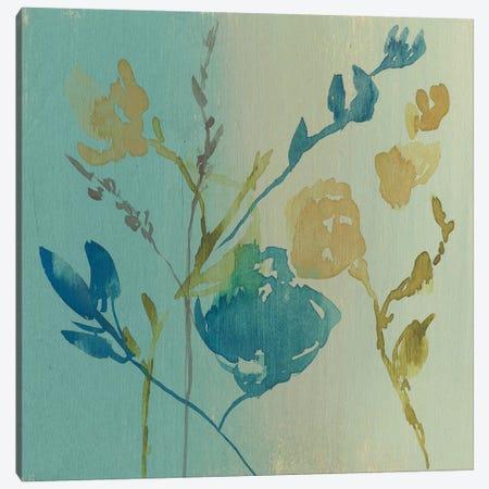 Spa & Sage Bouquet II Canvas Print #JGO444} by Jennifer Goldberger Canvas Art