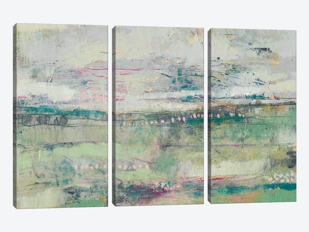 Sweet Distance I by Jennifer Goldberger 3-piece Canvas Artwork